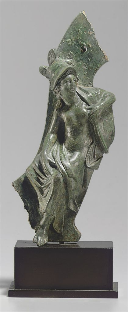 A GREEK BRONZE FULCRUM TERMINAL HELLENISTIC PERIOD, CIRCA 3RD-2ND CENTURY B.C. | Christie's