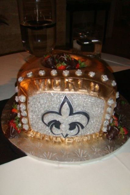 59 best Saints Cakes images on Pinterest Cake wedding Saints