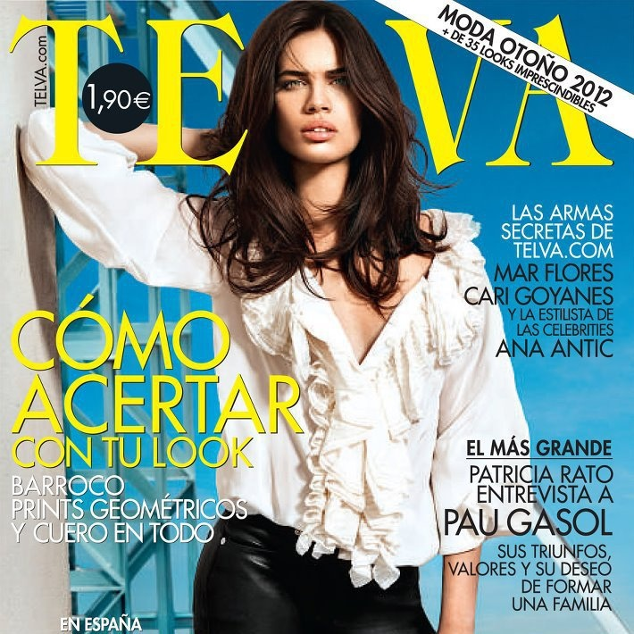 TELVA Agosto 2012: Cover, Covers