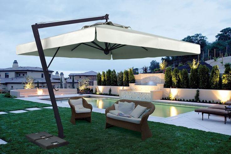 Buongiorno! La giornata inizia..all'ombra! Conoscete le origini e le evoluzioni contemporanee degli ombrelloni da giardino? http://www.arredamento.it/ombrelloni.asp #ombrelloni #giardino #outdoor