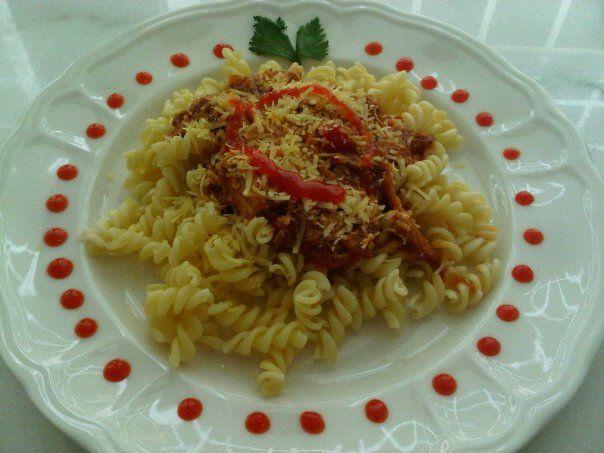 Spicy Tuna Fusili