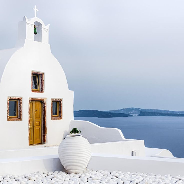 Divine inspiration swirled in Patmos through the Cave of the Apocalypse, where John the Evangelist received the awesome text of the Revelation. Discover the lands you read about in the Bible #Christian #Travels #Greece