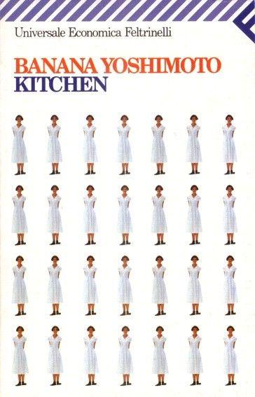 """""""Kitchen"""" Banana Yoshimoto  Ben scritto, belle descrizioni, belle immagini, ma il tema della morte l'ho trovato forte e presente in modo un po' pesante...un po' malinconico e depressivo."""
