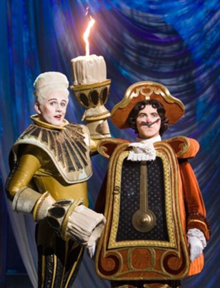 Cogsworth and Lumiere on Broadway. I think our candle hands for Lumiere are just as good or better! :)