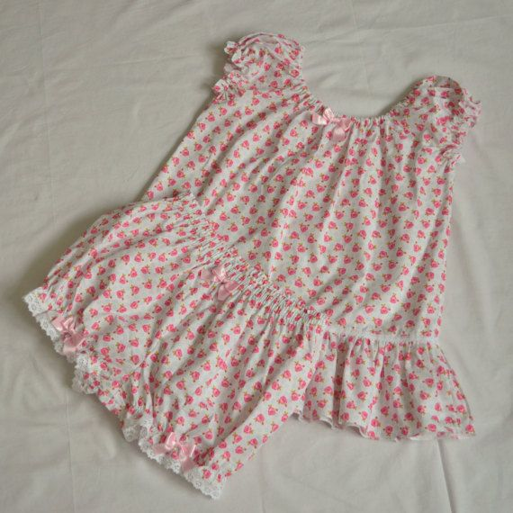 Cute Lolita Boudoir Sleepwear  Pajamas for by MadameMuffinStore