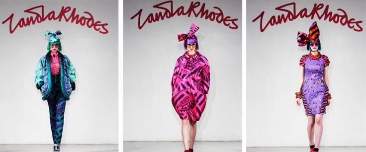 Zandra Rhodes | A high visibility fashion and textile design company