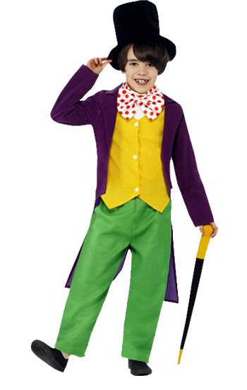 Willy Wonka is a great character to dress up as on Roald Dahl Day!
