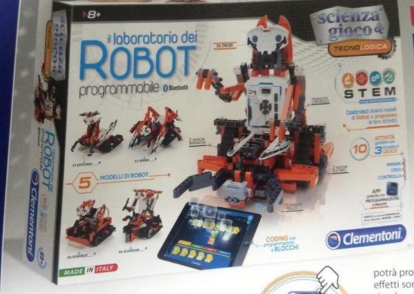 Il+laboratorio+dei+Robot+Clementoni