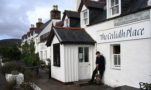 The Ceilidh Place, Ullapool, Scotland