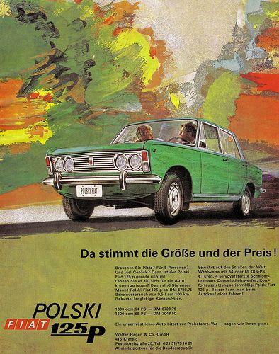 Polski Fiat 125p (1973) Da stimmt die Größe und der Preis!