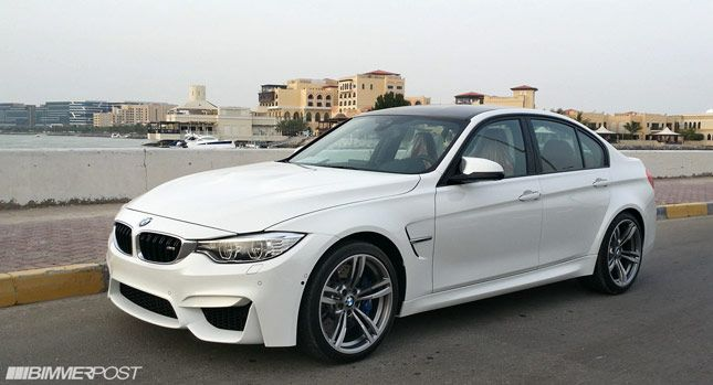 Carscoops: First (?) 2015 BMW M3 Sedan Arrives in the Hands o...