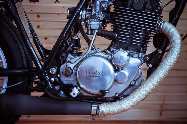 Yamaha SR 500 engine