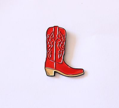 Red Cowboy Boot Soft Enamel Lapel Pin game 1.25 inch How I met Your Mother