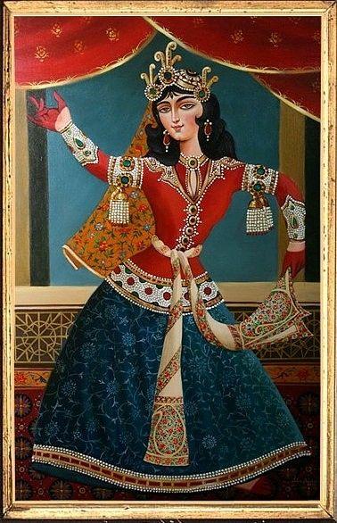 Qajar by Bijan Ghaderi