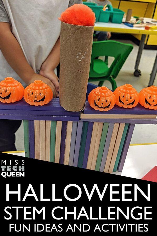 Halloween 2020 Problems Halloween STEM Challenges 6 October Activities in 2020 | Halloween
