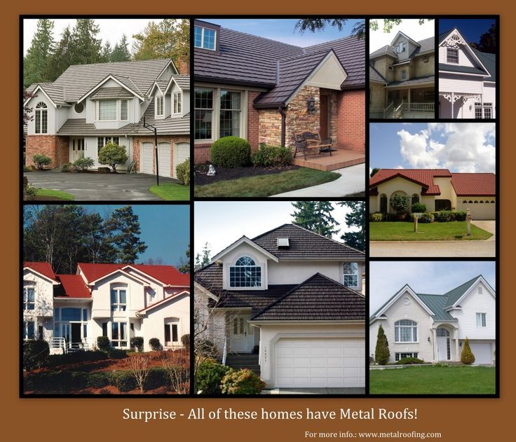 Top 43 ideas about metal roof ideas on pinterest metals for Tin roof styles