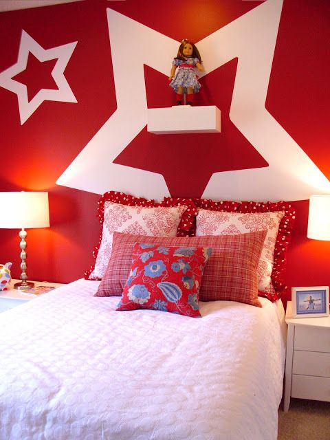 american girl room decorating ideas | The homes were decorated nicely but I can't say I was blown away