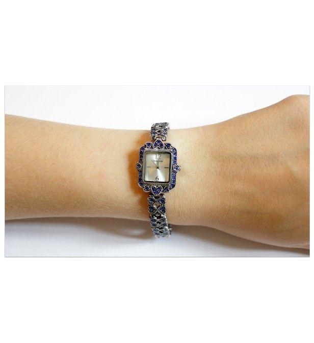Montre femme Manoush cadran 23 mm en acier argenté et bracelet argenté en acier