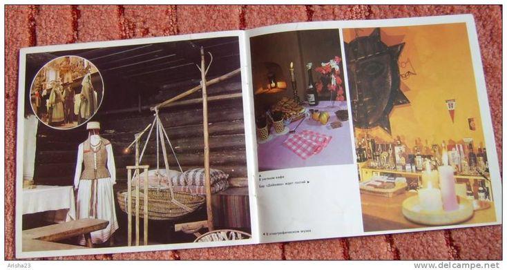 Brochure - picture guidebook - Vilnius 1979 - intourist