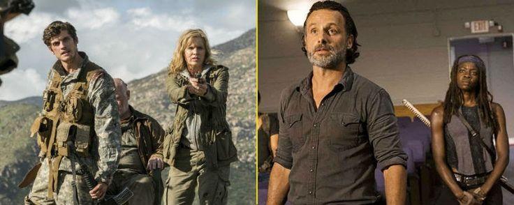 'The Walking Dead' tendrá un 'crossover' con 'Fear the Walking Dead' en 2018