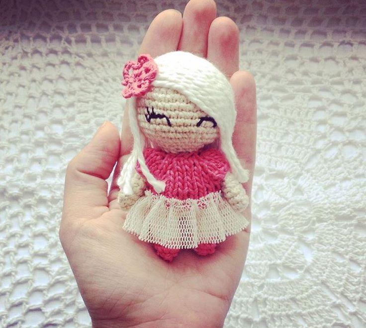 Tiny Amigurumi Doll : Tiny crochet doll inspiration mu�ec s amigurumi