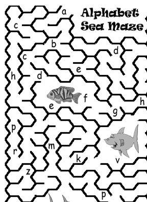 Boggle's World: Alphabet Mazes