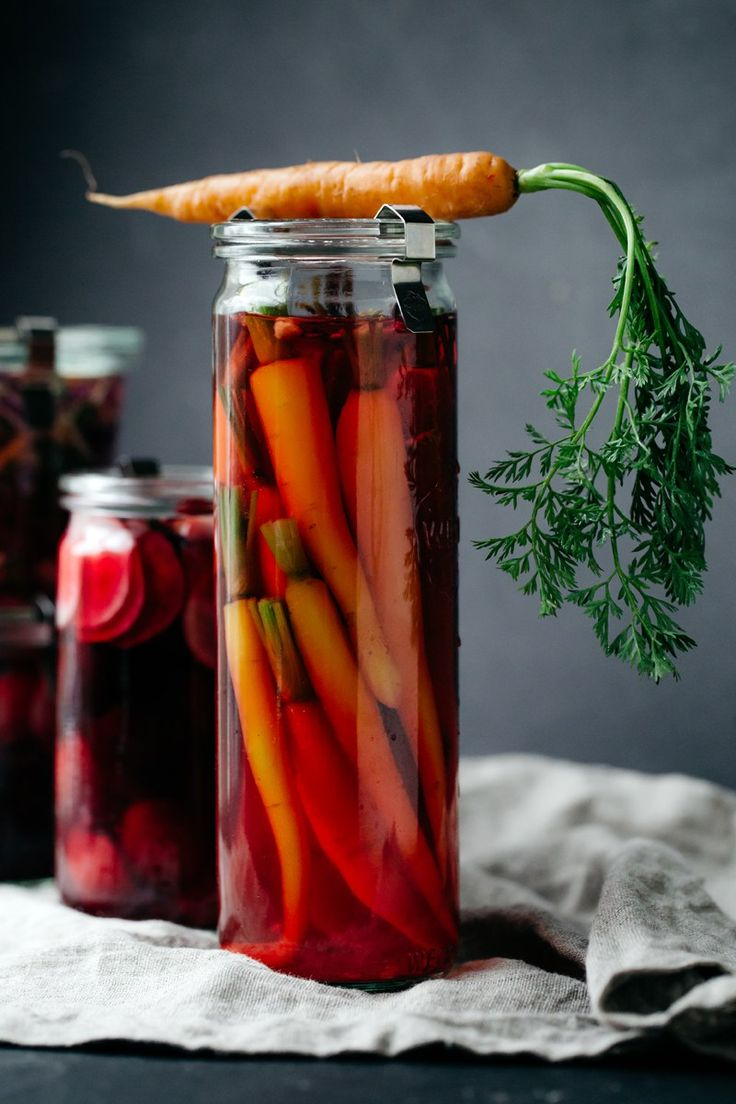 Hibiscus Jalapeño Quick Pickled Veggies | Artful Desperado