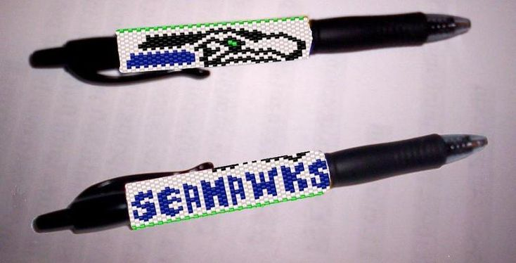 Seahawks G2 Pilot Pen Cover | Craftsy