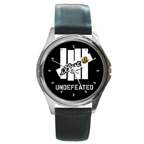 Untique watches Illest Undefeated logo Round by nonoaslino on Etsy