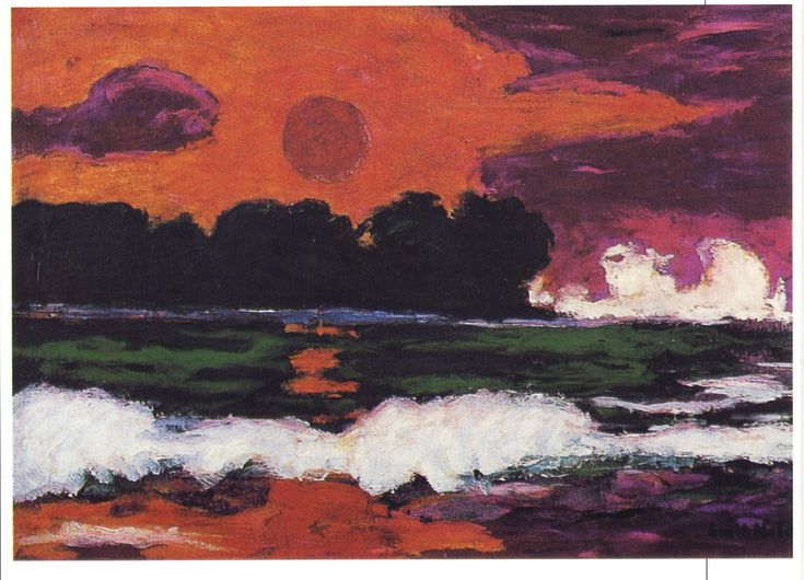 senza dedica: Il sole tropicale di Emil Nolde
