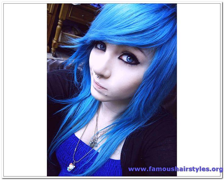 Blue hair is so cool
