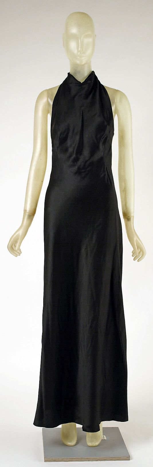 "The Metropolitan Museum of Art - ""Carnival Dress"" Madeleine Vionnet  (French, Chilleurs-aux-Bois 1876–1975 Paris)   Date: 1936 Culture: French Medium: silk Under Dress"