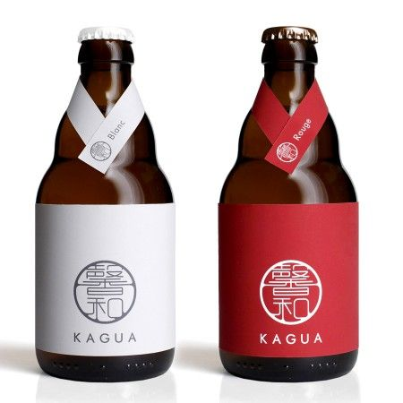 Oh! Beautiful Beer - The distinctive bottle and label design, showing simplicity and humbleness that complements any cuisine, is one of KAGUA's most fundamental values. — Kagua