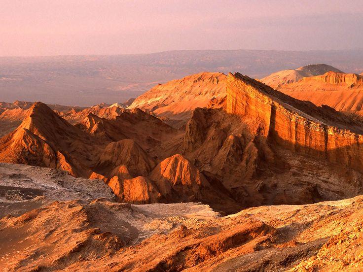 Moon Valley - San Pedro de Atacama Chile