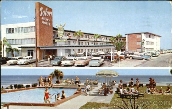 The Thunderbird Motel In Daytona Beach Florida Vintage Pinterest And