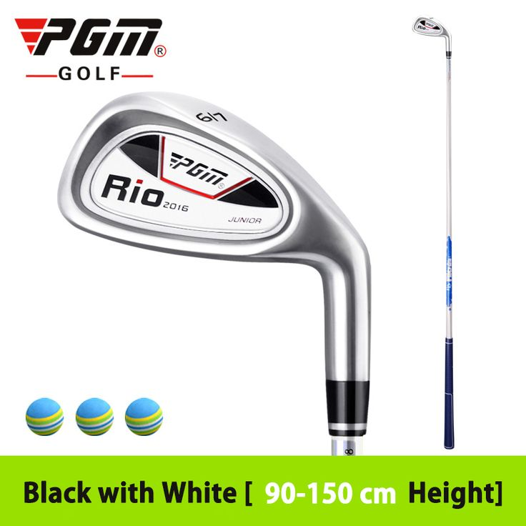 High Quality Brand Junior Golf Boy Iron Clubs Girl Exercise 7 Iron Right-hand Inferior Steel Driver Multicolor Ultralight Club