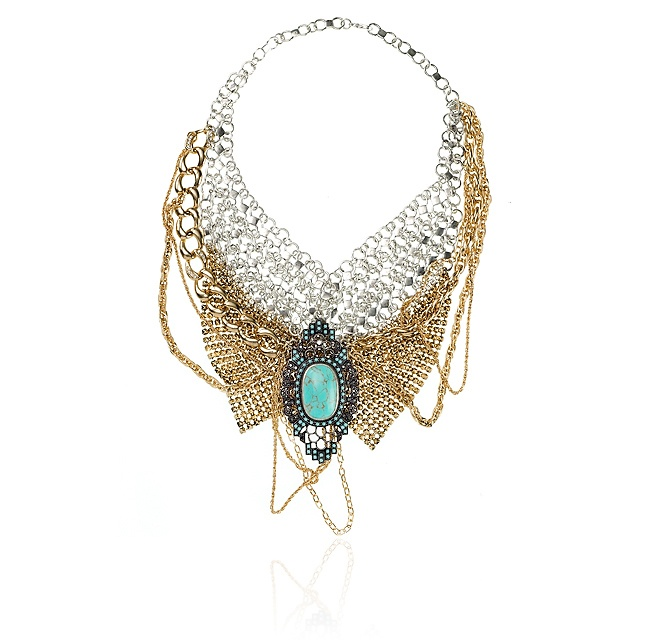 SAMANTHA WILLS - CAMEO LOVER COLLAR NECKLACE...I'm in love with this design. Santa Claus could maybe buy it for me???