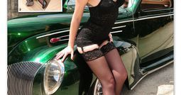 "Hot Rat Rod Girls | Re: ""Kustom Culture"" Bobbers, choppers, hot rods, Pin Up girls, etc"