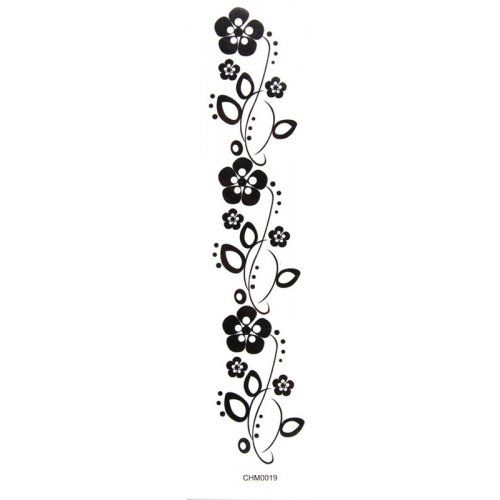 tattoo tobilleras para mujer con flores - Buscar con Google