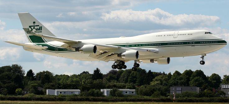 Boeing 747 HZ-WBT7 - Kingdom Holding.  Owned by Saudi billionaire Prince Al Waleed bin Talal al Saud