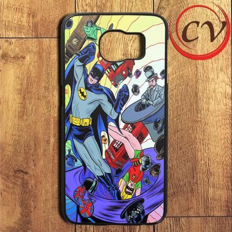 Batman And Robin Magic Art Samsung Galaxy S6 Edge Plus Case
