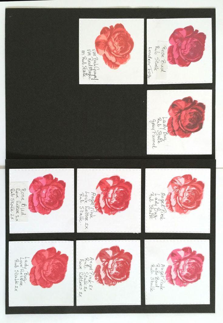 Creadin: Kleurcombinaties voor Layered Stamps