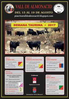 torodigital: Cartel de la semana taurina de Vall de Almonacid ...
