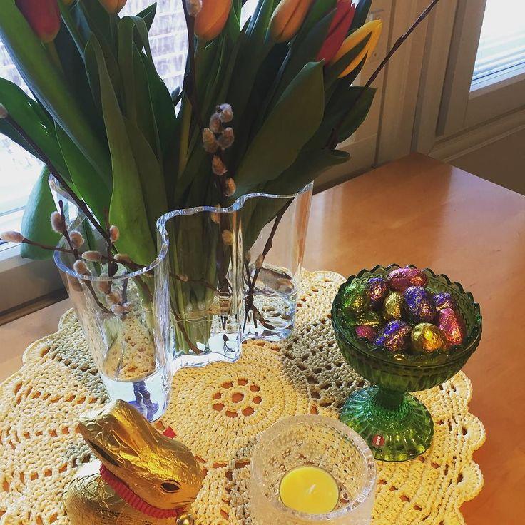 Waiting for #easter and #spring #pääsiäinen #iittala #marimekko #crochetersofinstagram #virkkaus by ullamaijaa