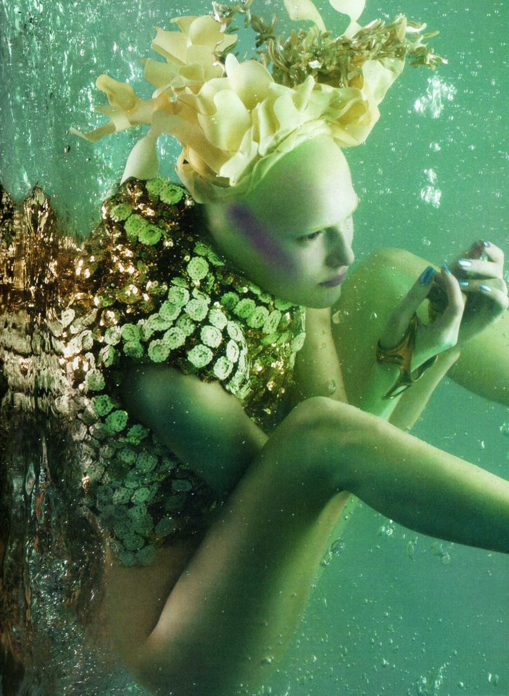 Sølve Sundsbø, 'The Girl From Atlantis', 2010)    Alexander McQueen's 'Plato's Atlantis'