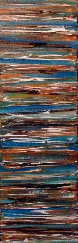 Lisa Ormsby/Mixed Media on Canvas #Strata