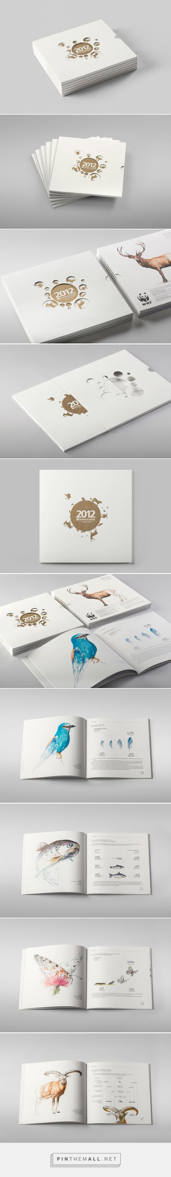 Prometey Bank Annual Report 2012 on Behance