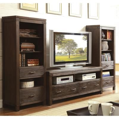 Riverside Furniture – Promenade 60-Inch TV Console and Piers #fairfieldgrantswishes