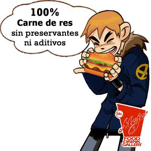 100% carne de res....