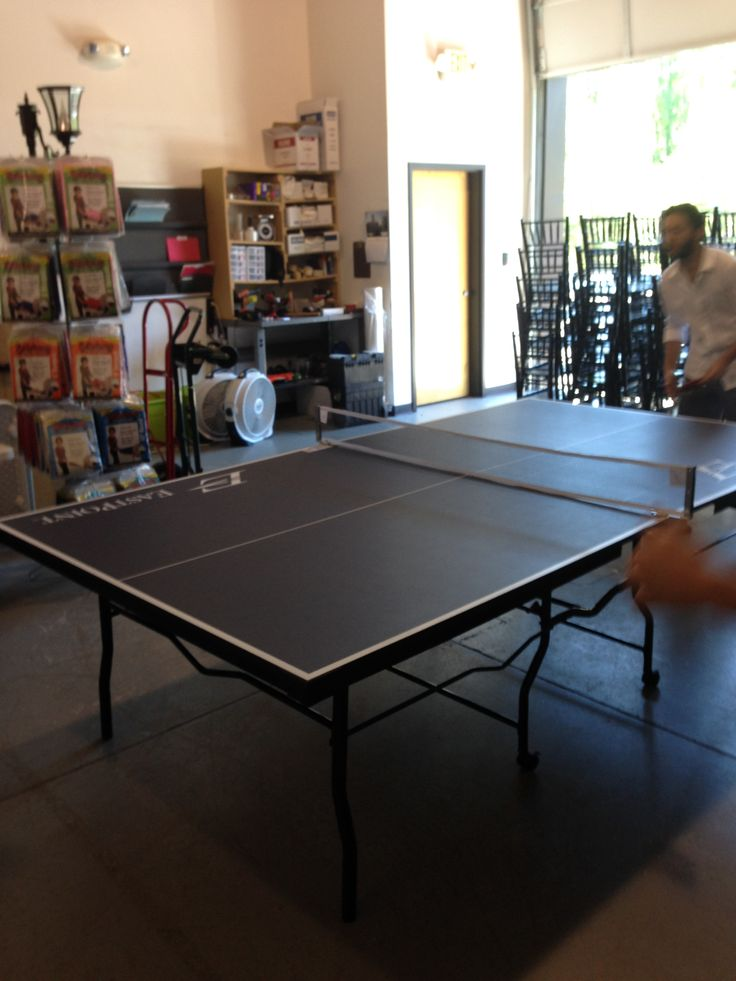 Our Office Took A Break And Played Some Ping Pong. #Atlanta #rental #